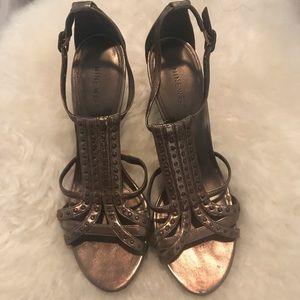 Pre-loved Nine West Metallic Sandal